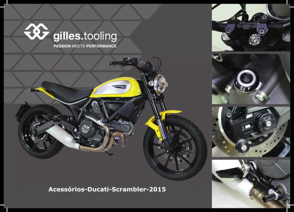 Ducati Scrambler - Acessórios Gilles Tooling