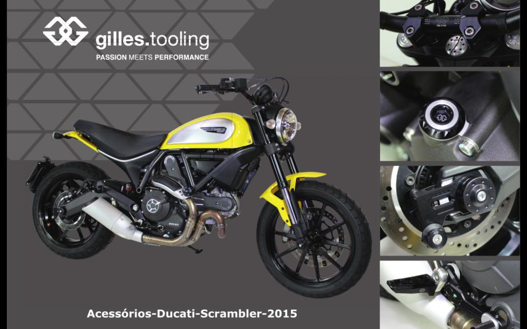 Ducati Scrambler: Acessórios Gilles Tooling