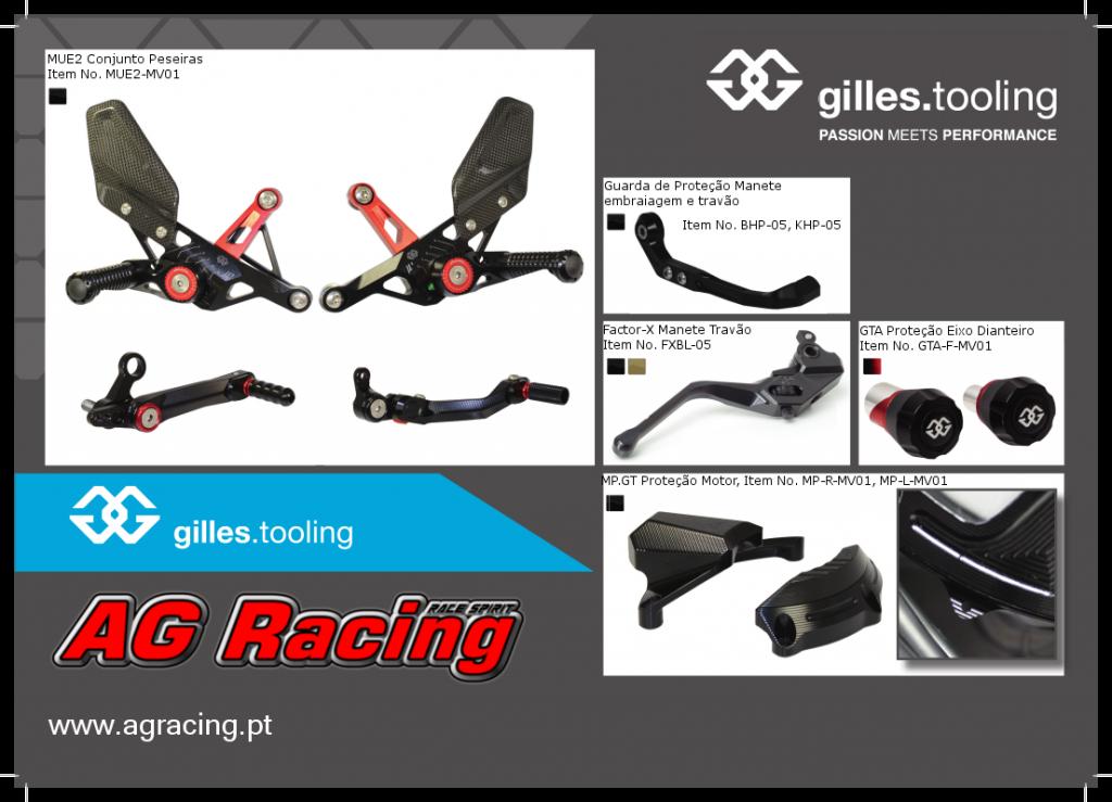 Acessórios Gilles Tooling MV Agusta F3