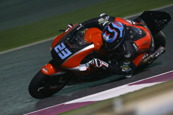 Moto2 AGR Team com Escapes Spark