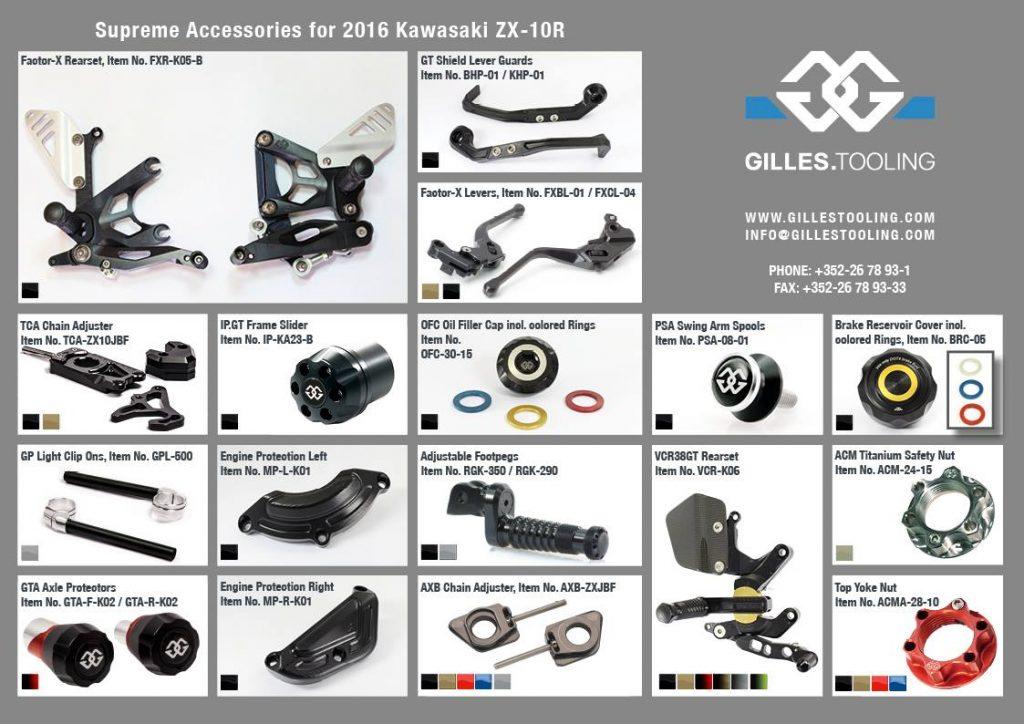 Catalogo ZX-10R 2016 Gilles Tololing Parte 2